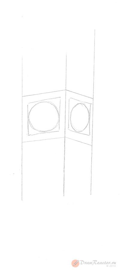 Рисуем циферблат для часов