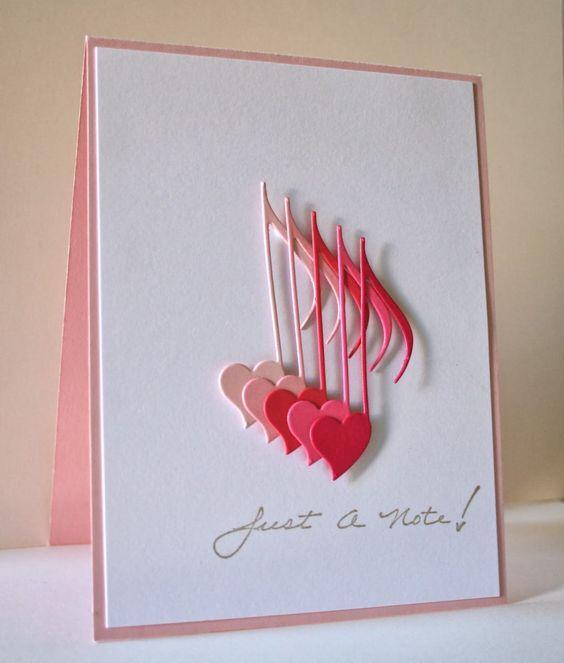Объемная открытка, изготовленная своими руками. Фото нестандандартных открыток