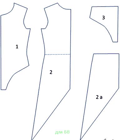 [как сделать костюм ласточки