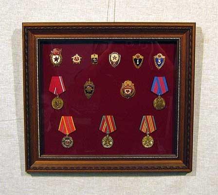 Как сделать рамку для медалей своими руками