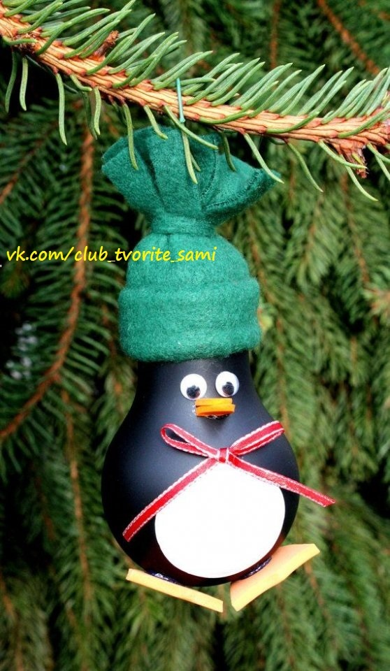 Как сделать новогодние игрушки на елку