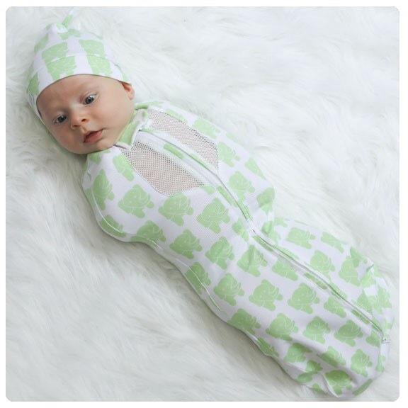 Конверт на молнии для новорожденного своими руками