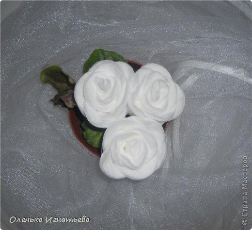 Цветы из ватных дисков пошагово
