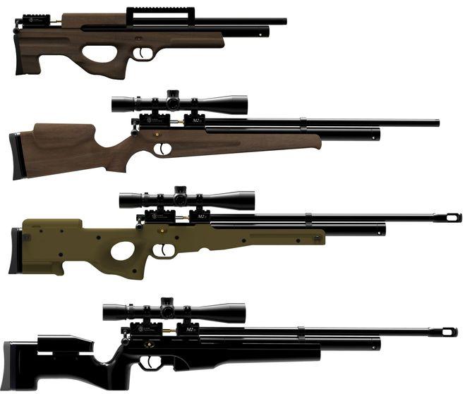 мощные пневматические винтовки