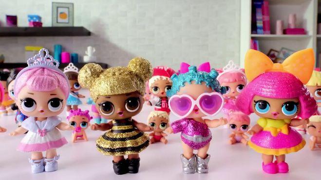 Подарочный набор кукол LOL в большой 45 см