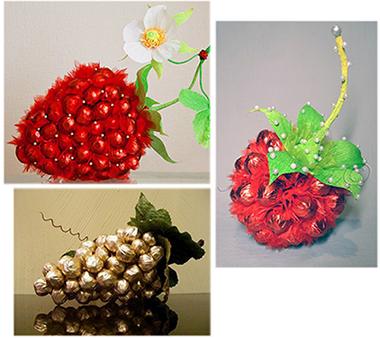 """подарок из конфет """"Фереро Роше"""" фрукты"""