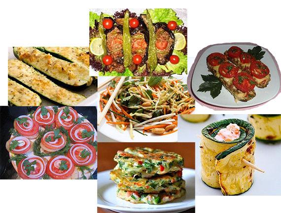Самые вкусные блюда из овощей