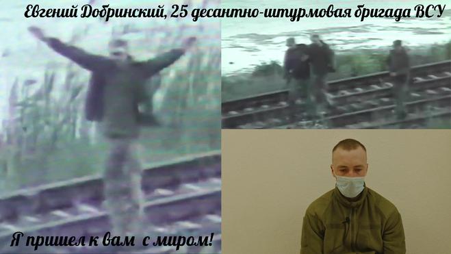 Евгений Добринский Я пришёл к вам с миром