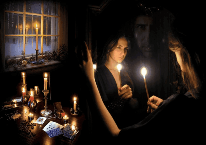 Зеркало; Гадание; Волшебство; чудо