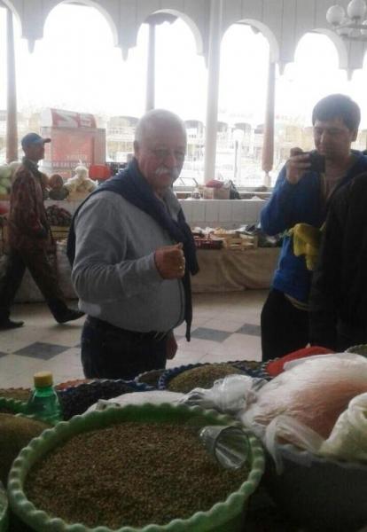 Якубович в Узбекистане