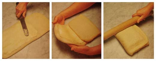 Как сделать пошагово слоеное тесто