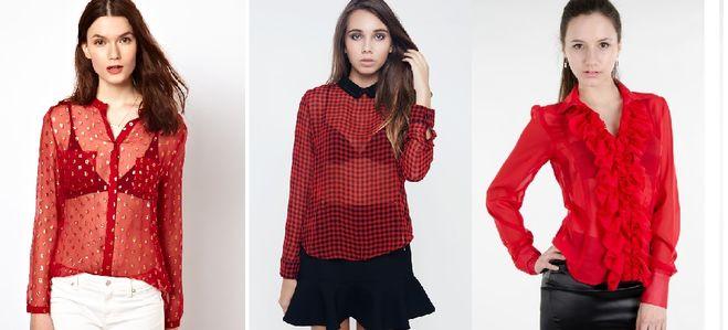 ec235778598 Бюстгальтер какого цвета уместно надеть под красную прозрачную блузку