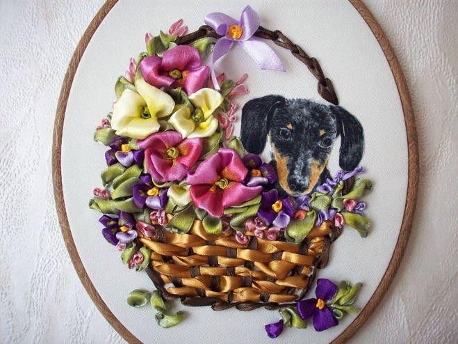 Например в этом варианте отображены ленточные цветочки