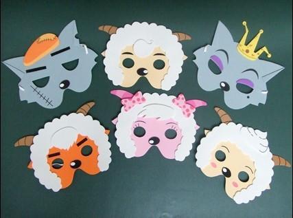 Как сделать маску барашка