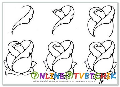 Как легко сделать открытку на 8 марта