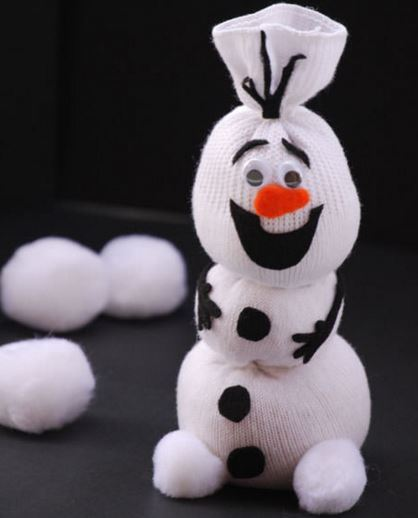 Олаф снеговик игрушка своими руками 97