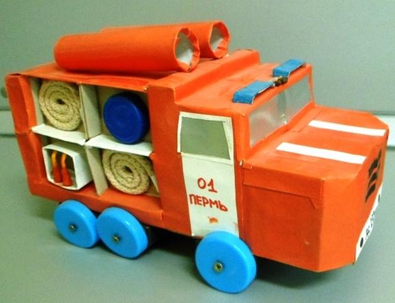 Пожарная машина сделать своими руками 174