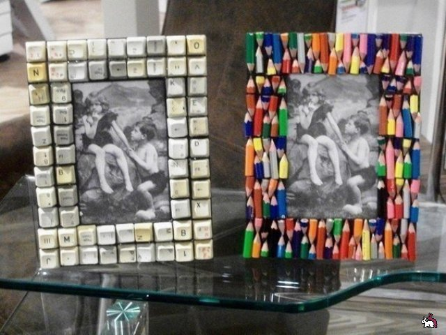 Чем можно украсить рамку для фотографий своими руками