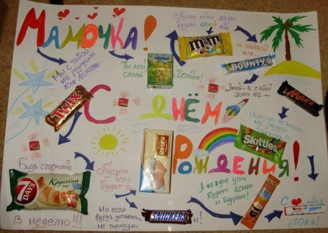 Плакаты с днем рождения подруге с фотографиями своими руками фото 111