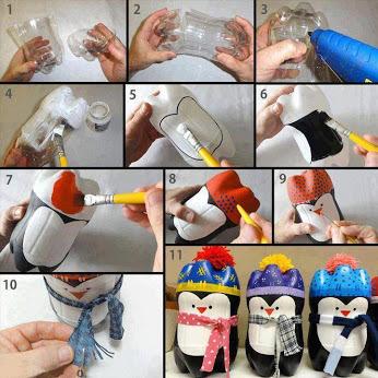 поделка пингвин своими руками, пингвин