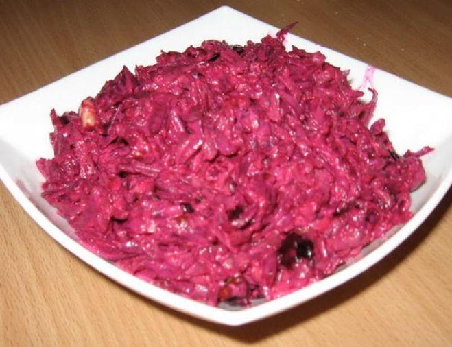 Салат со свеклой рецепт с