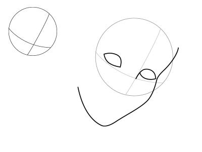 как нарисовать Золушку 1