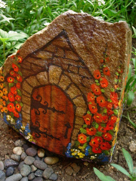 Домик из камней своими руками с