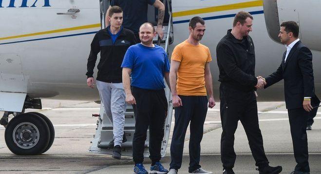 обмен заключёнными между Россией и Украиной
