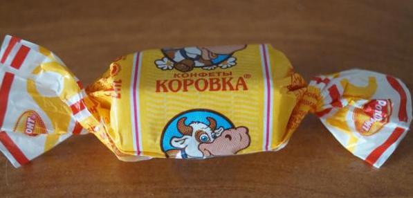 Домашние конфеты коровка рецепт фото