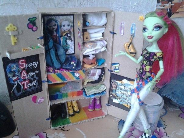 Как сделать мебель для кукол своими руками для монстр хай фото 906