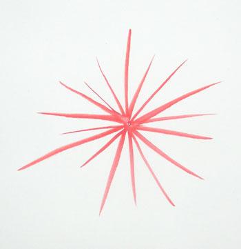 Как нарисовать астру поэтапно карандашом