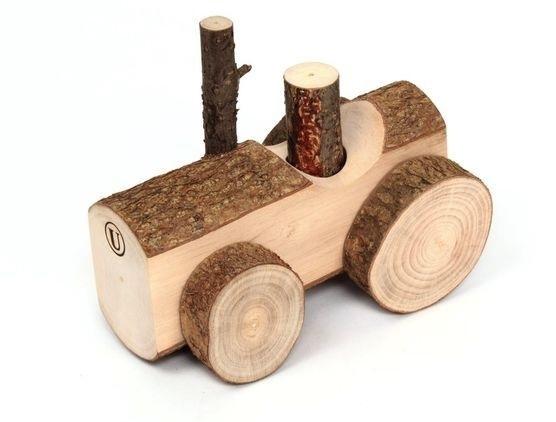 Как сделать своими руками деревянный трактор