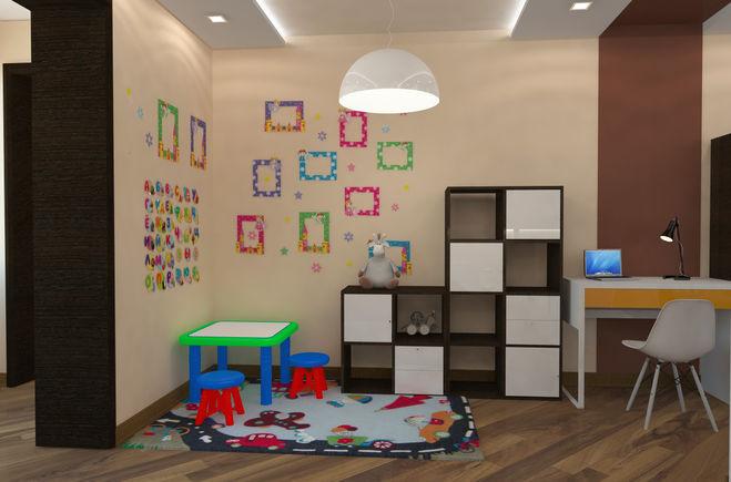 Детская в однокомнатной квартире своими руками