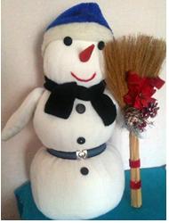Снеговик из подушки