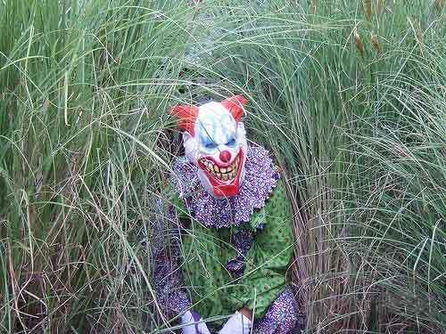 Клоун; Злые клоуны; Террор