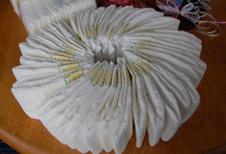 Торты из памперсов своими руками пошаговое фото