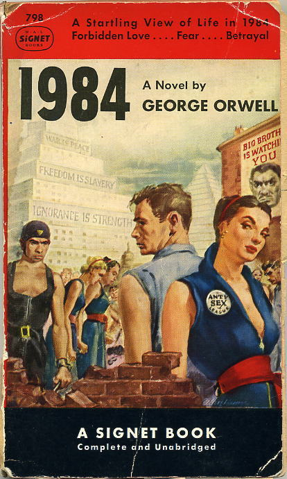a comparison of nineteen eighty four and animal farm novels by george orwell