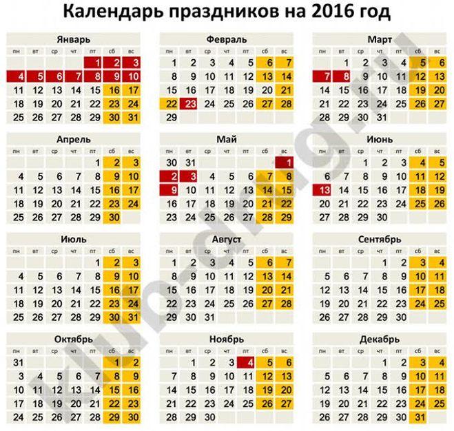 Календарь свидетелей иеговы 2016