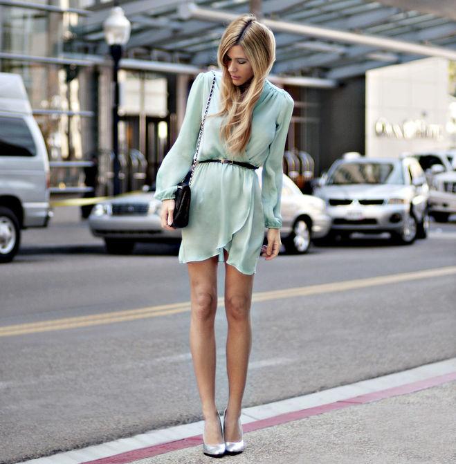 Блузка мятного цвета в спб