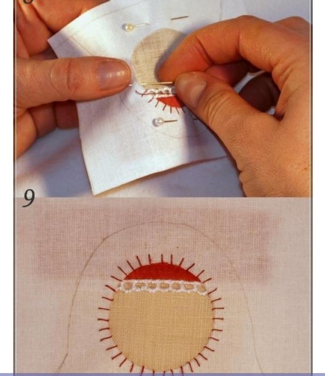 Матрешки из ткани своими руками