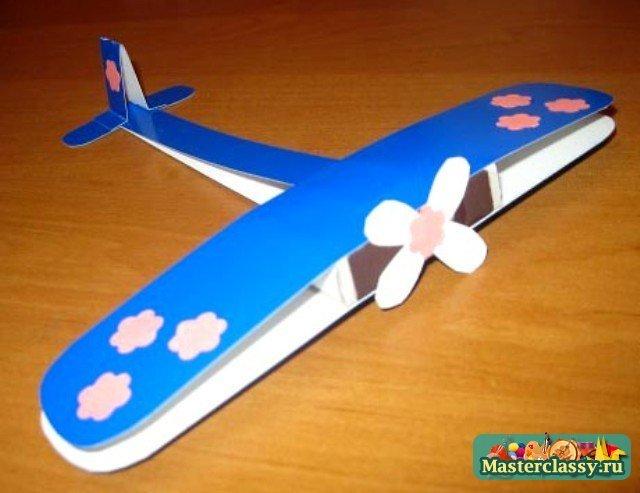 Мастер класс как сделать самолет