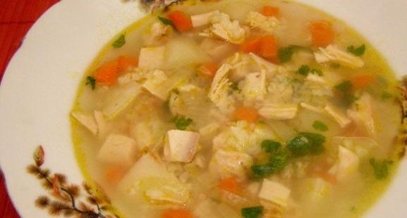 Куриный суп рисовый рецепты