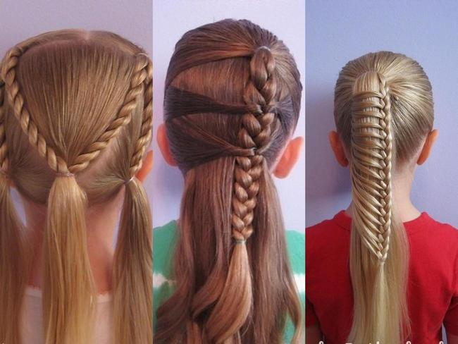 Плетение кос ребенку пошаговое