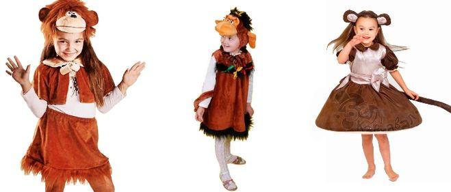 Костюм обезьяны своими руками для девочки