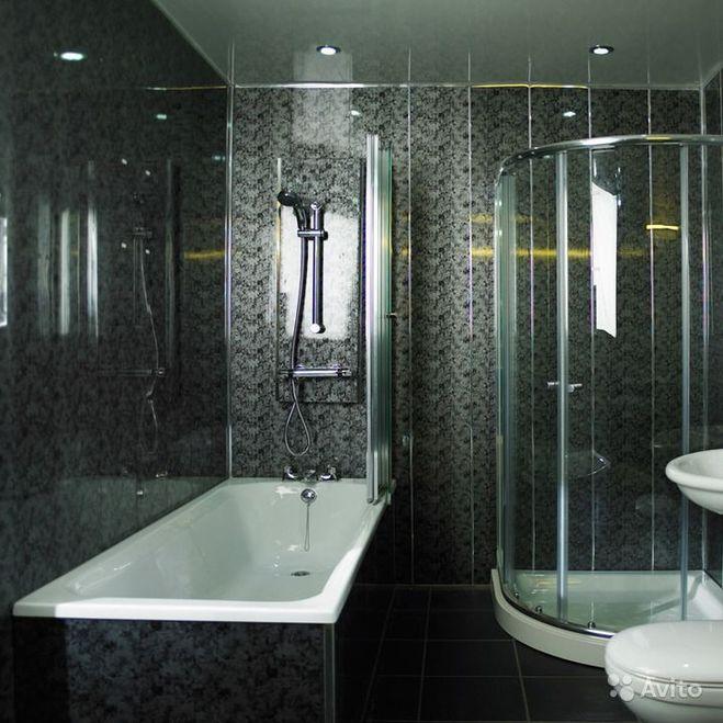 как недорого отделать ванную