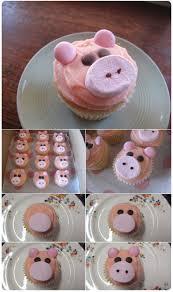сладости на Новый год Свиньи с видом поросенка