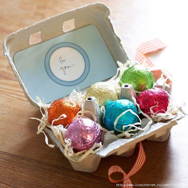 Упаковка для яиц к пасхе