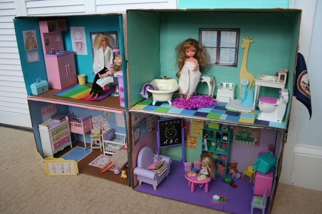 Барби куклы и их домики своими руками 20