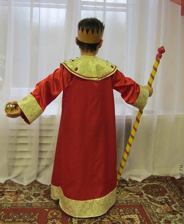 Как сделать костюм царя и корону на новогодний утренник ... - photo#31