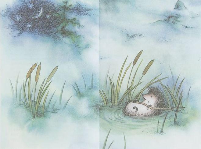 """Козлов """"Ежик в тумане"""": какое краткое содержание сказки"""